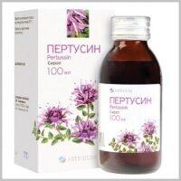 Применение сиропа от кашля Пертуссин у детей и взрослых